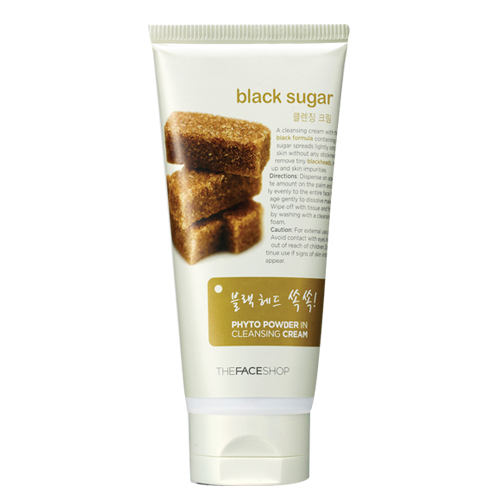[Thefaceshop] Cream rửa mặt  tẩy trang Phyto Powder In Cleansing Cream - Black Sugar