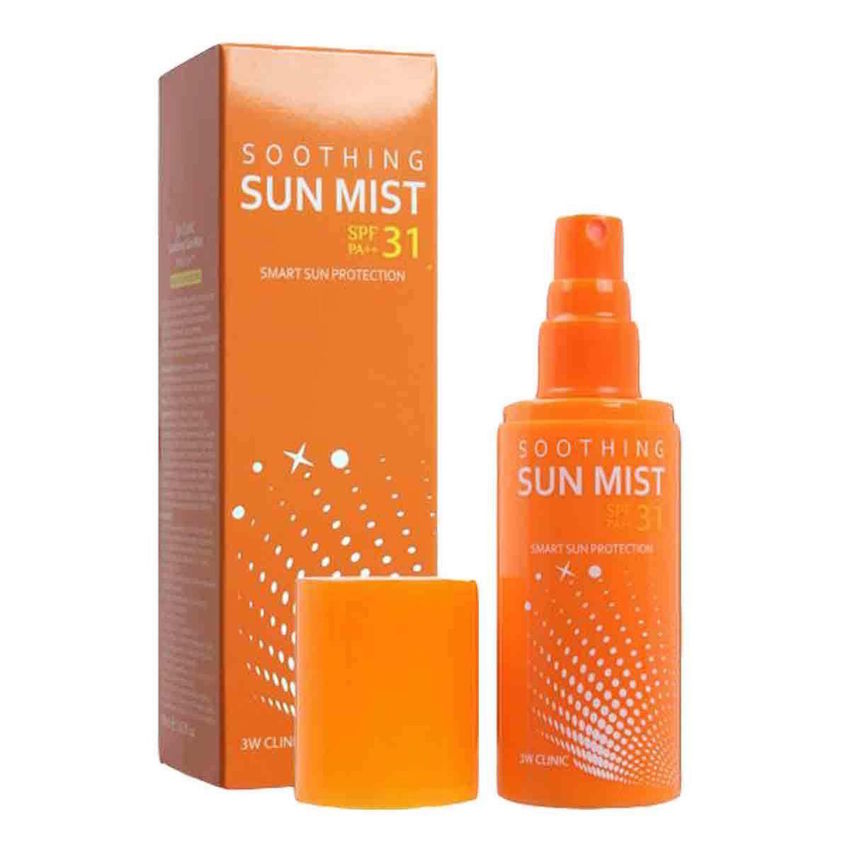 3W Clinic Xịt chống nắng Smoothing Sun Mist 100ml SPF31/PA+++