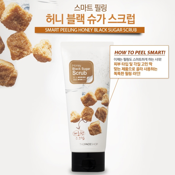 [THE FACE SHOP] Tẩy tế bào chết face Honey Black Sugar Scrub