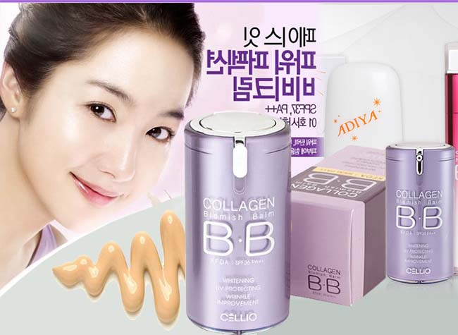 Cellio BB Cream Collagen Blemish Balm SPF40 PA++