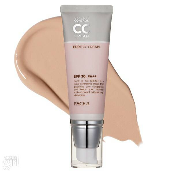 [The Face Shop] Face It Pure CC Cream SPF 30 PA++