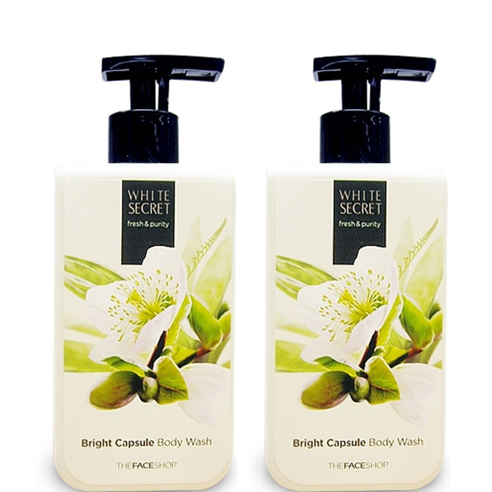 [The Face Shop] Sữa tắm White Secret Bright Capsule Body Wash 300ml