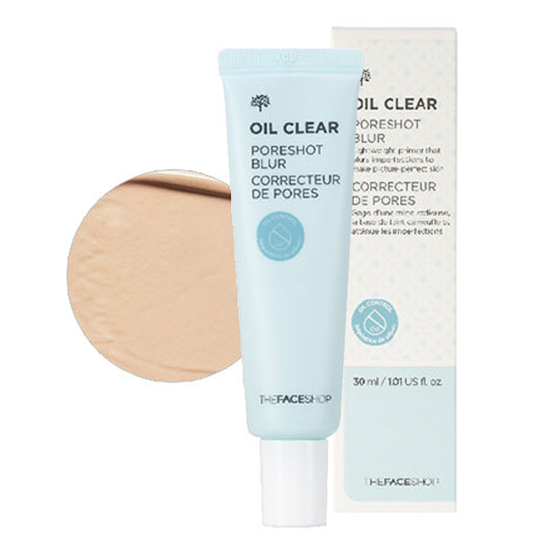 [The Face Shop] Kem lót Oil Clear Pore Shot Blur 30ml