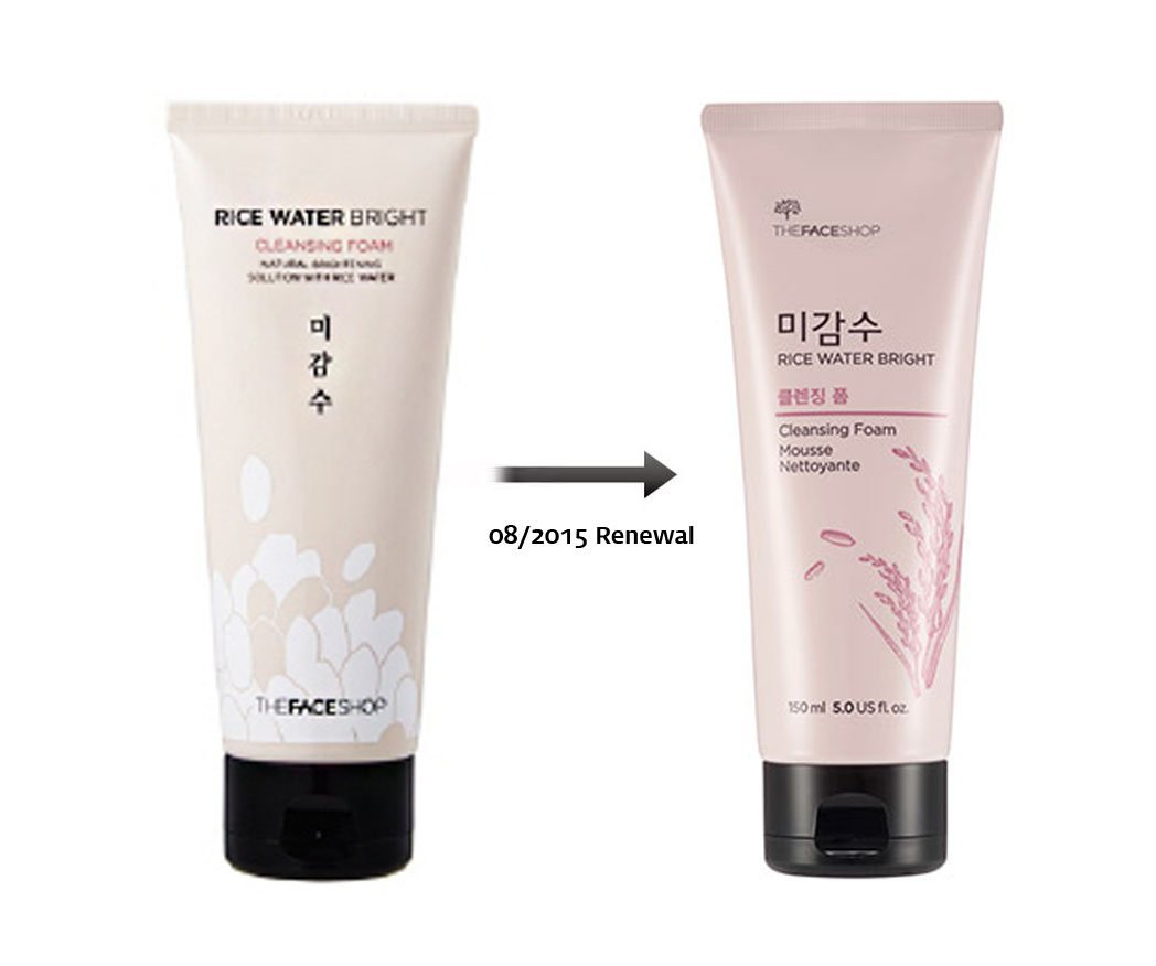 [The Face Shop] Rice Water Bright Cleansing Foam 150ml