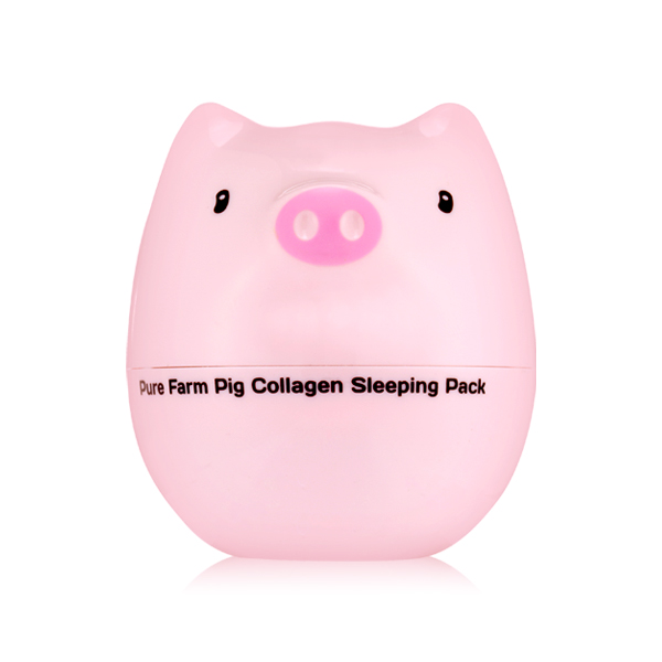 [Tony Moly] Mặt nạ ngủ Pure farm Pig collagen sleeping pack  80g