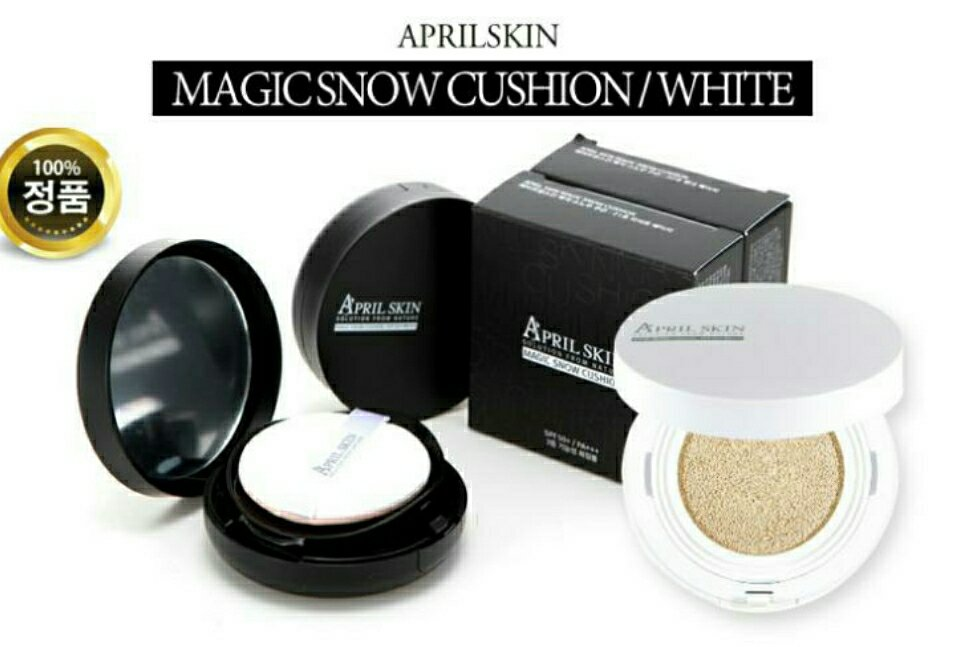 [APRIL SKIN] Magic Snow Cushion White SPF 50++ PA