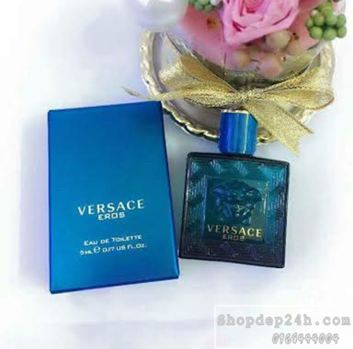 [Versace] Nước hoa mini nam Versace Eros For Men EDT 5ml