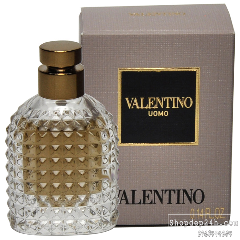 [Valentino] Nước hoa mini nam Valentino Uomo For Men 4ml
