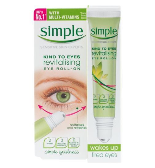 [Simple] Dưỡng mắt dạng lăn Simple Kind to Eyes Revitalizing Eye Roll-On