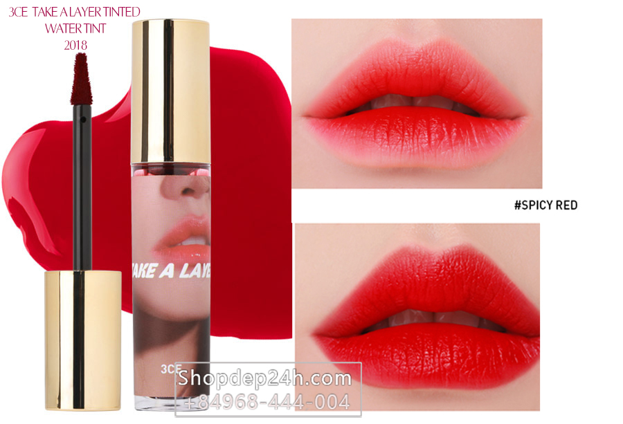 [3CE] Son 3CE Take A Layer Tinted Water tint hot trend 2018