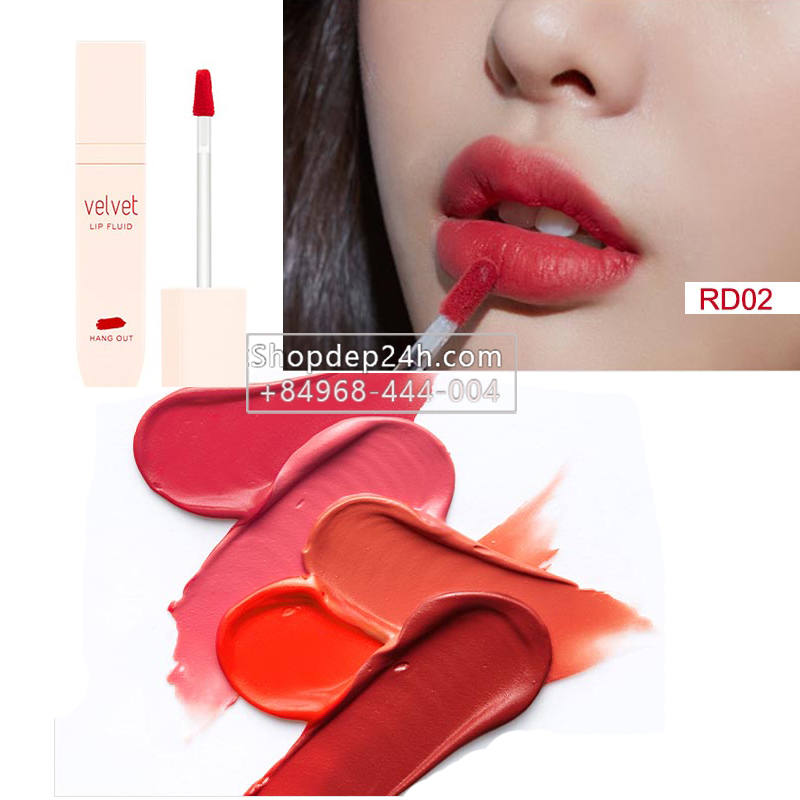 [Missha] Son kem lì Missha Velvet Lip Fluid Hang out 4.5g