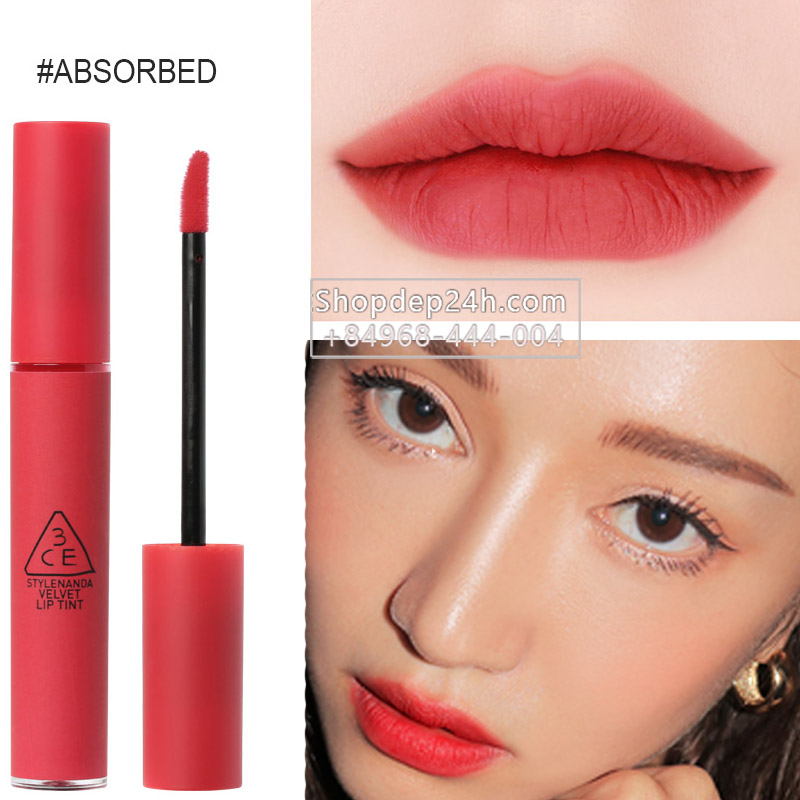 [3CE] Son 3ce Velvet Lip Tint new #Absorbed